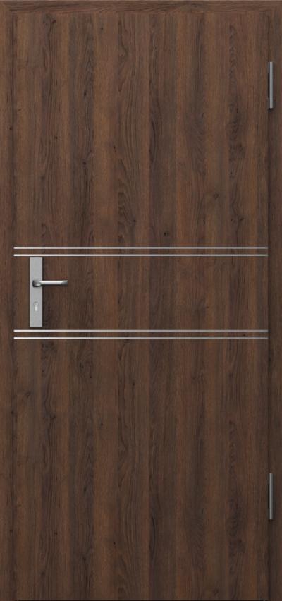 Drzwi techniczne INNOVO 37dB Intarsje 4 Gladstone