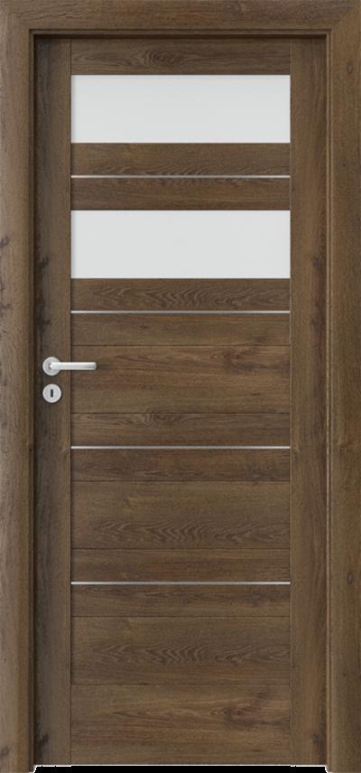 Drzwi wewnętrzne Porta VERTE HOME C.2 intarsje
