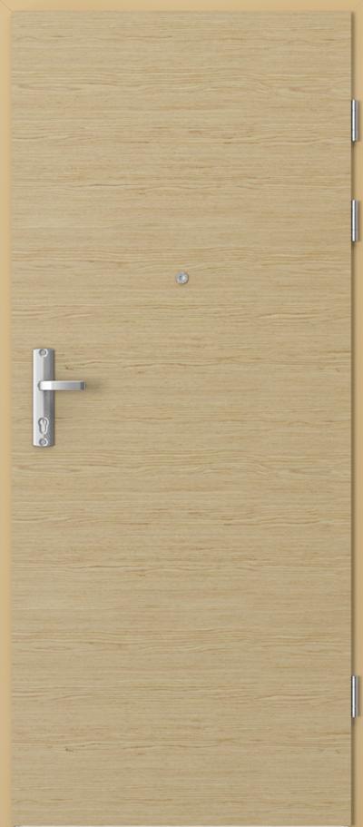 Drzwi wejściowe do mieszkania EXTREME RC3  Okleina Naturalna Select **** Dąb