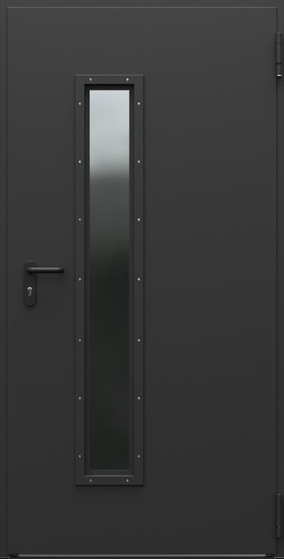 Podobne produkty                                  Drzwi techniczne                                  Steel EI 60 model 3