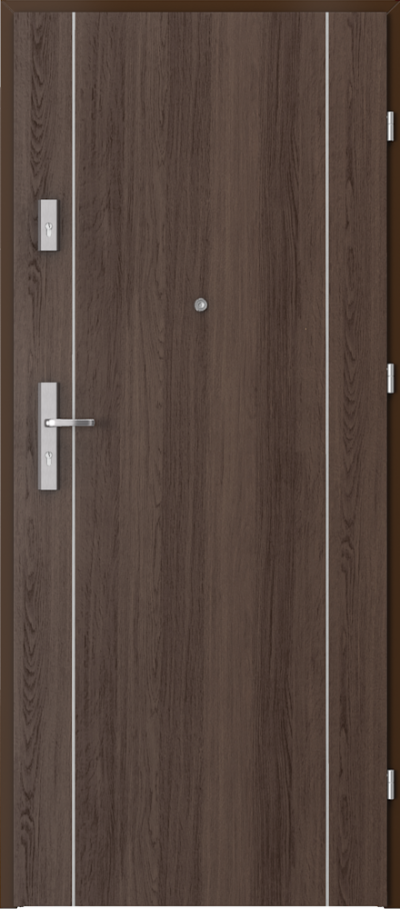 Podobne produkty Drzwi wejściowe do mieszkania OPAL Plus intarsje 1