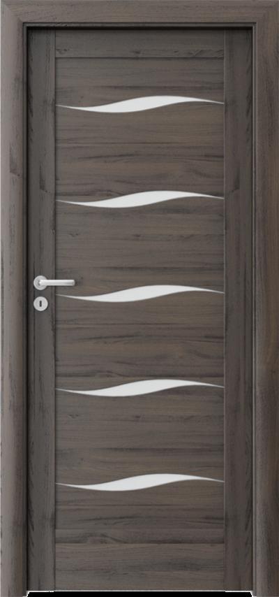 Drzwi wewnętrzne Porta VERTE HOME, E-F F.5 Okleina Portasynchro 3D *** Dąb Ciemny
