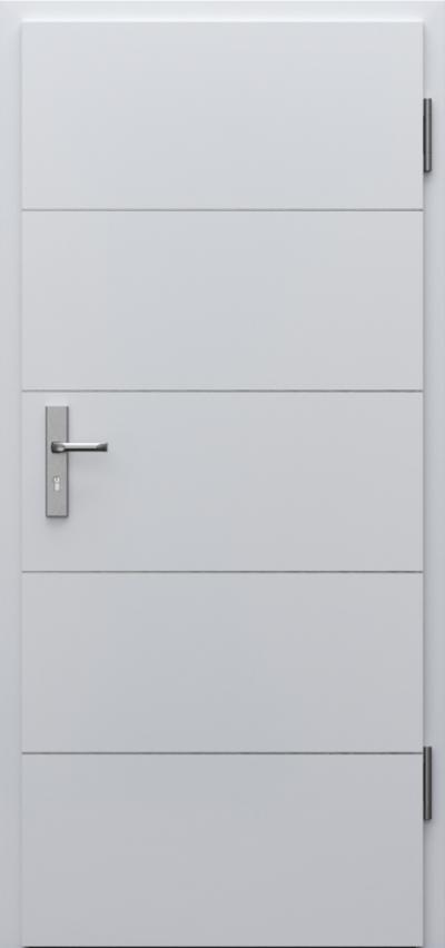 Drzwi techniczne INNOVO 37dB Intarsje 6