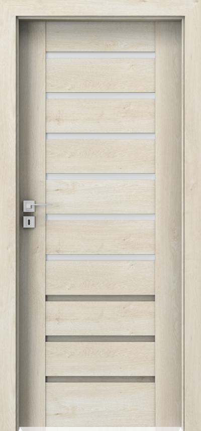 Drzwi wewnętrzne Porta KONCEPT A.6 Okleina Portaperfect 3D **** Dąb Skandynawski