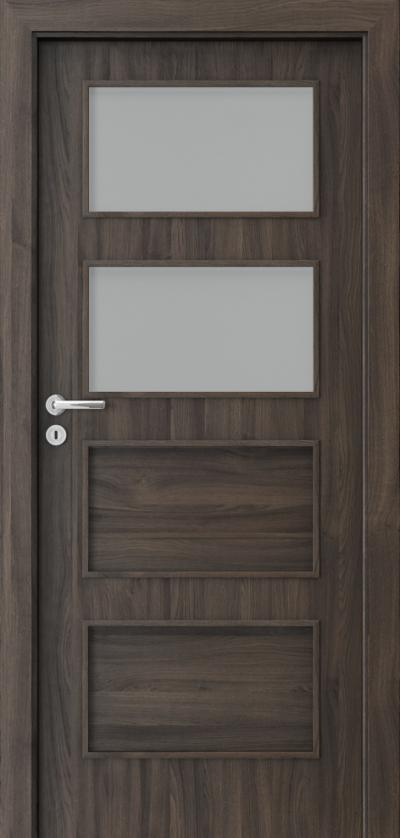 Interior doors Porta FIT H.2 Portasynchro 3D veneer *** Dark Oak