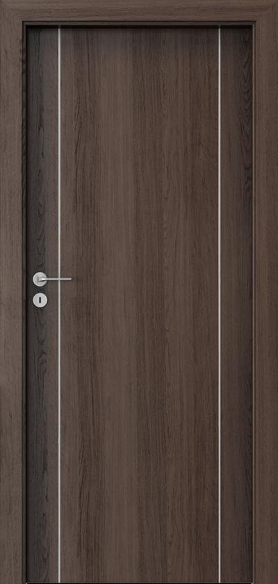 Drzwi wewnętrzne Porta LINE A.1 Okleina Portaperfect 3D **** Dąb Hawana