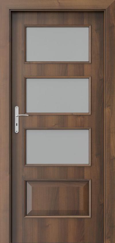 Drzwi wewnętrzne Porta NOVA 5.4 Okleina Portadecor *** Orzech