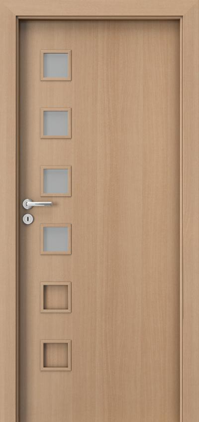 Interiérové dveře Porta FIT A.4 Laminát CPL HQ 0,2 ***** Buk Porta
