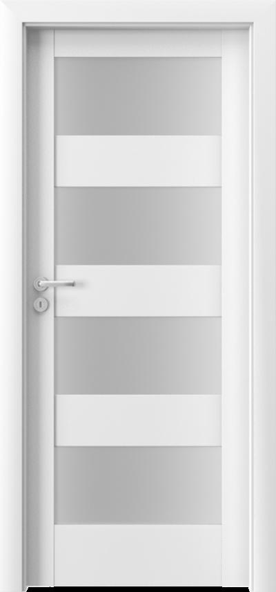 Drzwi wewnętrzne Porta VERTE HOME, L L.4 Okleina Portadecor *** Biały