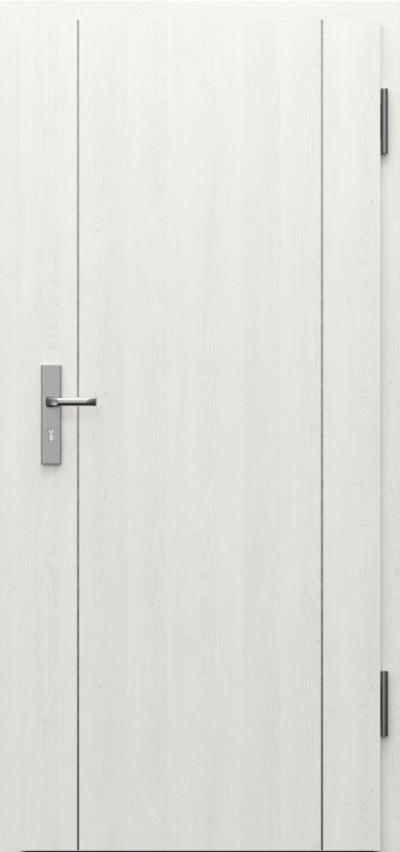 Drzwi techniczne INNOVO 42 dB Intarsje 1 Gladstone Gladstone/Halifax ****** Dąb Biały