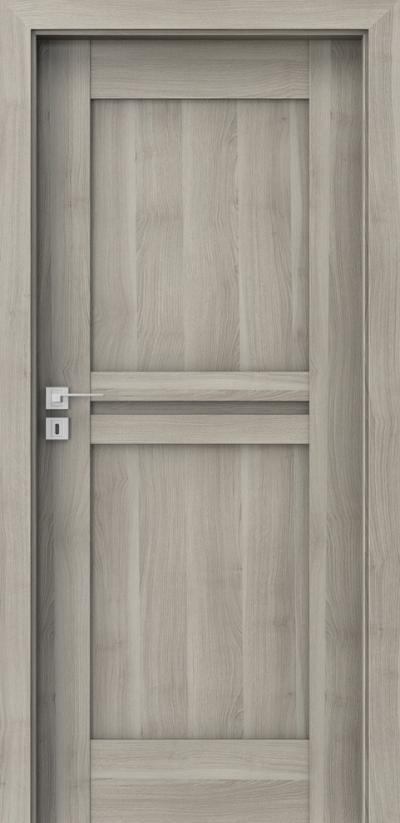 Drzwi wewnętrzne Porta KONCEPT B.0 Okleina Portasynchro 3D *** Akacja Srebrna