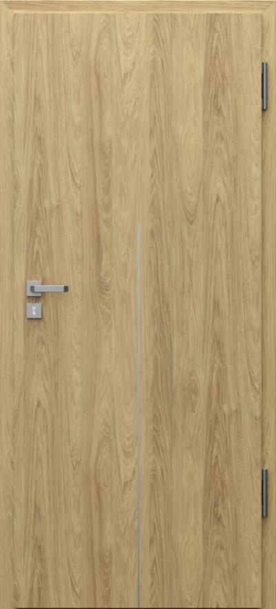 Drzwi techniczne Porta SILENCE 37 dB + EI30 intarsje 9