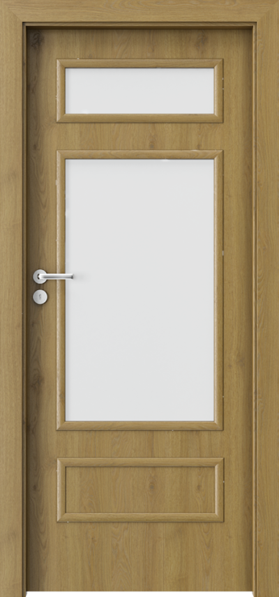 Drzwi wewnętrzne Porta GRANDDECO 1.3 Okleina Portaperfect 3D **** Dąb Naturalny