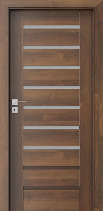Drzwi wewnętrzne Porta KONCEPT A.7 Okleina Portadecor *** Orzech