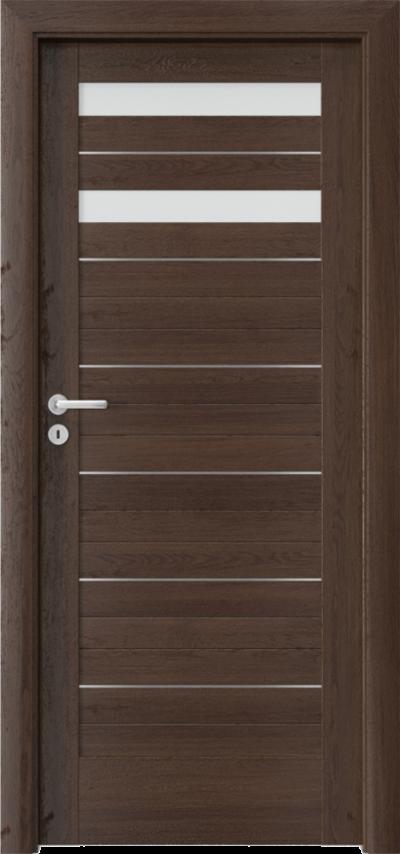 Drzwi wewnętrzne Porta VERTE HOME D.2 intarsje