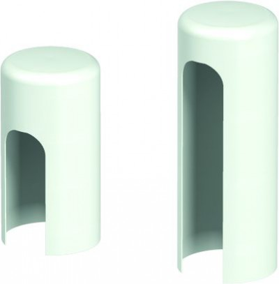 Accessories Hinges and hinge covers Covers for hinges standard for interior doors (set per one hinge) white Polyester paint ***** White (RAL 9016)