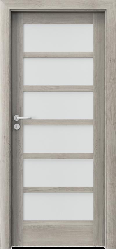 Drzwi wewnętrzne Porta VERTE HOME, A A.6 Okleina Portasynchro 3D *** Akacja Srebrna