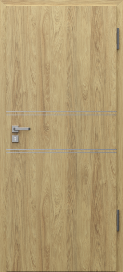 Podobne produkty                                  Drzwi wejściowe do mieszkania                                  Porta SILENCE 37 dB + EI30 intarsje 4