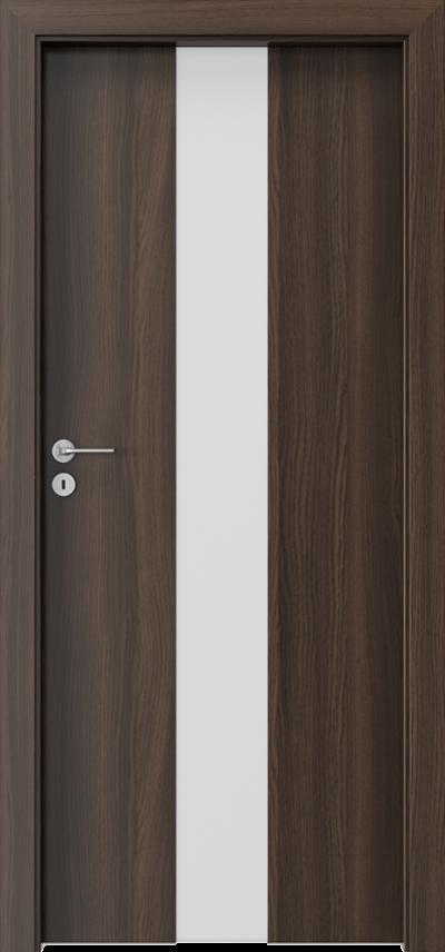 Drzwi wewnętrzne Porta FOCUS 2.0 szyba matowa Okleina CPL HQ 0,2 ***** Dąb Milano 5