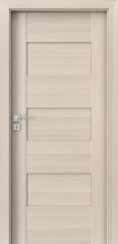 Drzwi wewnętrzne Porta KONCEPT K.0 Okleina Portadecor *** Orzech Bielony