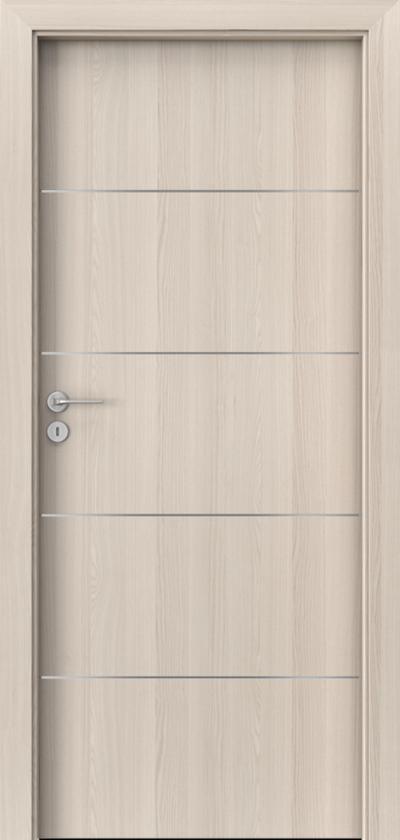 Drzwi wewnętrzne Porta LINE E.1 Okleina Portadecor *** Orzech Bielony