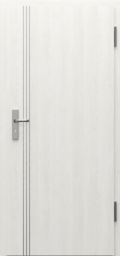 Drzwi techniczne INNOVO 42dB Intarsje 3 Gladstone
