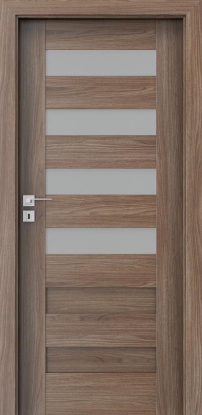 Drzwi wewnętrzne Porta KONCEPT C.4 Okleina Portadecor *** Orzech Verona 2