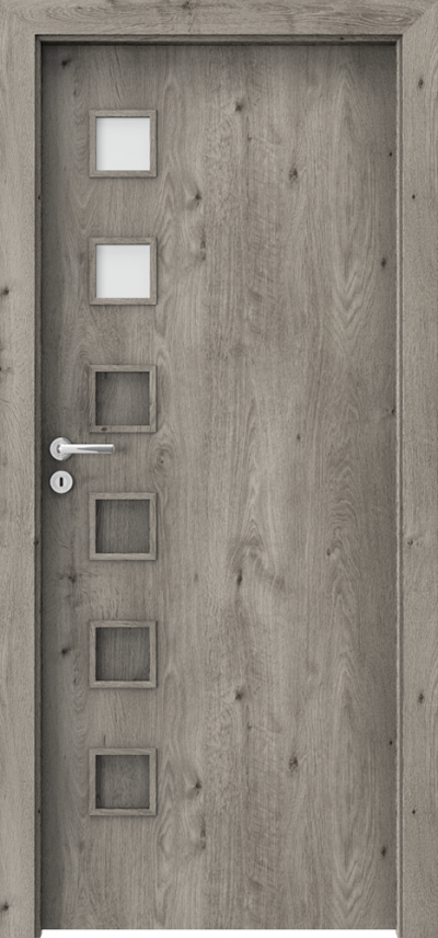 Interior doors Porta FIT A.2 Portaperfect 3D veneer **** Siberian Oak