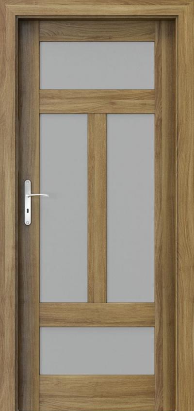 Drzwi wewnętrzne Porta HARMONY B.3 Okleina Portasynchro 3D *** Akacja Miodowa
