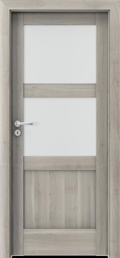 Drzwi wewnętrzne Porta VERTE HOME, N N.2 Okleina Portasynchro 3D *** Akacja Srebrna