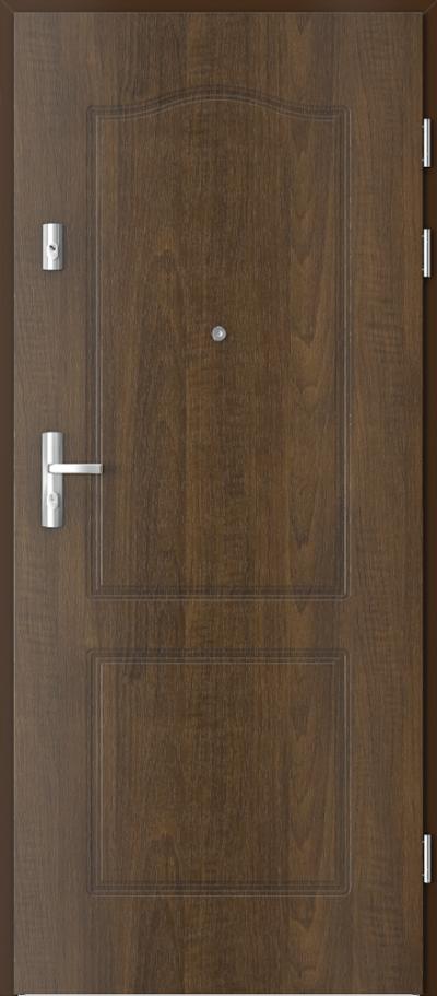 Drzwi wejściowe do mieszkania KWARC frezowane model 9