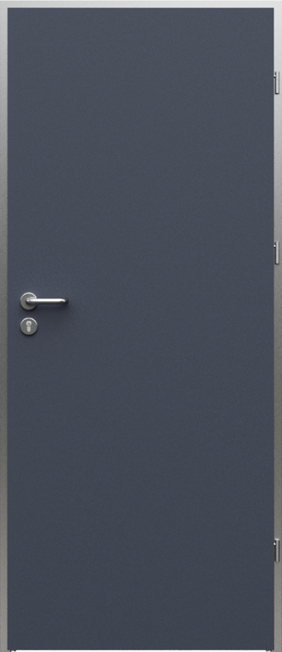 Technische Türen AQUA Vollflächig Furnier HPL ****** Anthrazit HPL CPL