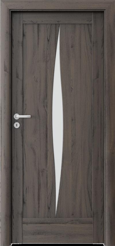 Drzwi wewnętrzne Porta VERTE HOME, E-F E.5 Okleina Portasynchro 3D *** Dąb Ciemny