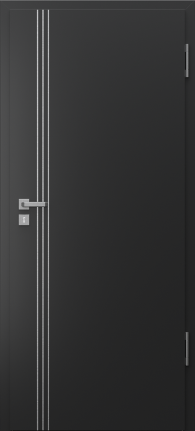 Drzwi techniczne Porta SILENCE 37 dB + EI30 intarsje 3