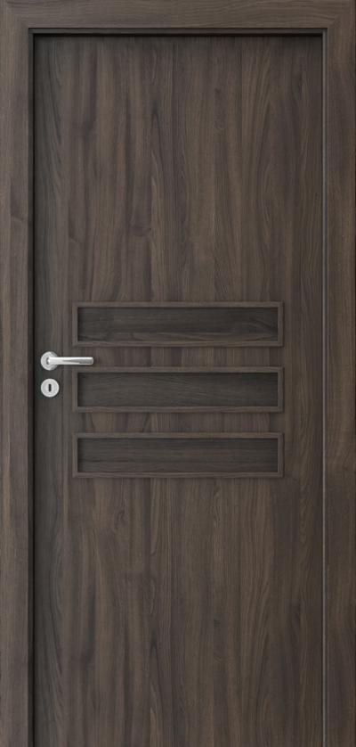 Interior doors Porta FIT E.0 Portasynchro 3D veneer *** Dark Oak