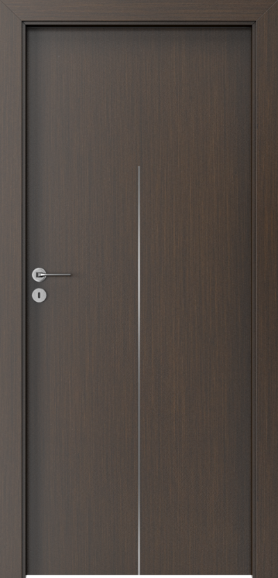 Drzwi wewnętrzne Porta LINE H.1 Okleina Portadecor *** Wenge