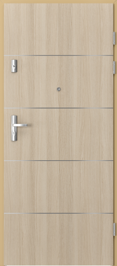 Drzwi wejściowe do mieszkania GRANIT intarsje 6