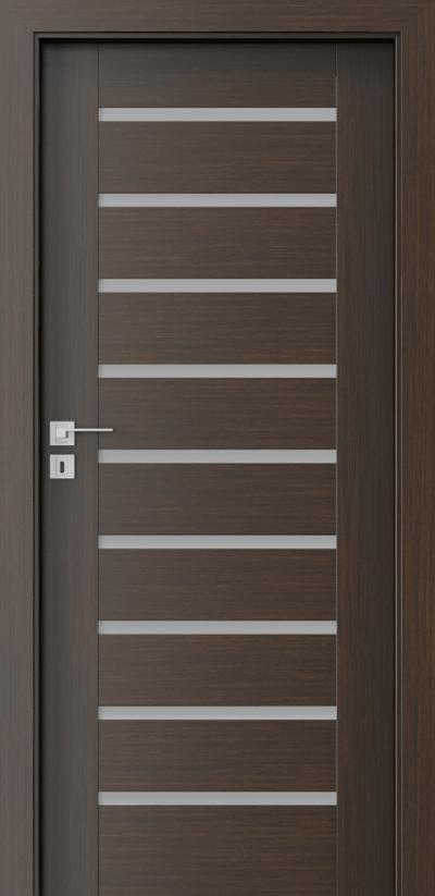 Interior doors Porta CONCEPT A.9 Portadecor veneer *** Wenge