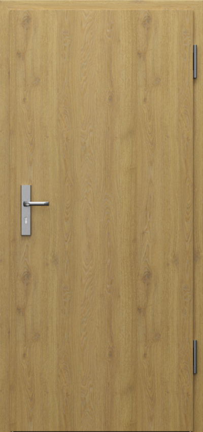 Technical doors INNOVO 37 dB  CPL HQ 0,7 laminate ****** Natural Oak