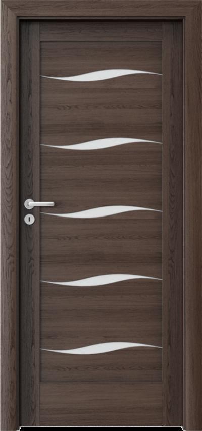 Drzwi wewnętrzne Porta VERTE HOME, E-F F.5 Okleina Portaperfect 3D **** Dąb Hawana