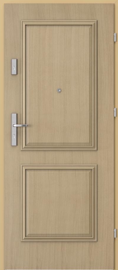Drzwi wejściowe do mieszkania AGAT Plus ramka 3 z panelem