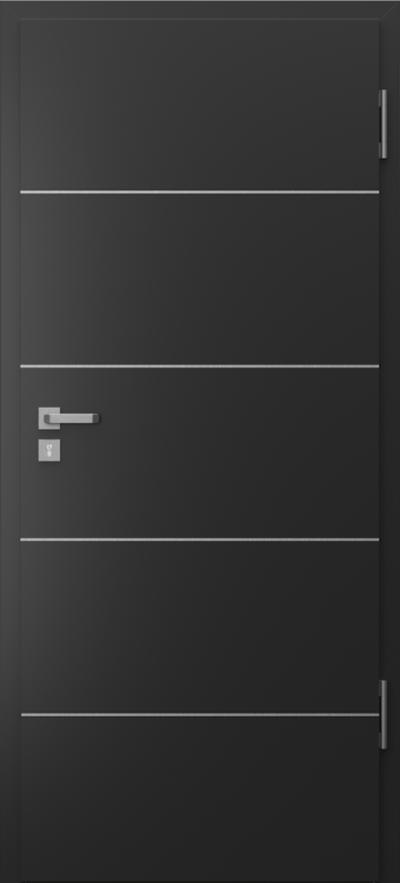 Podobne produkty                                  Drzwi wejściowe do mieszkania                                  Porta SILENCE 37 dB intarsje 6