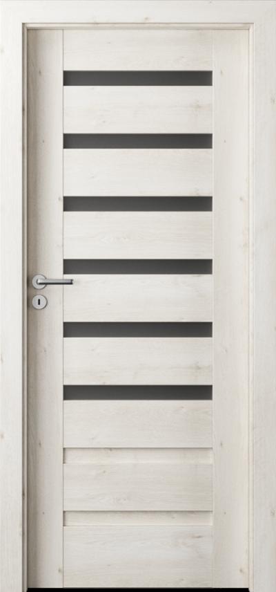 Drzwi wewnętrzne Porta VERTE PREMIUM, D D.6 Okleina Portaperfect 3D **** Dąb Skandynawski
