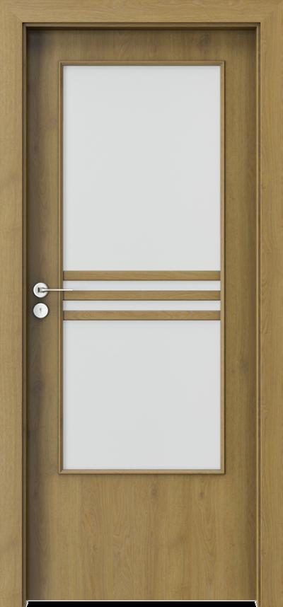 Drzwi wewnętrzne Porta STYL 3 Okleina CPL HQ 0,2 ***** Dąb Naturalny