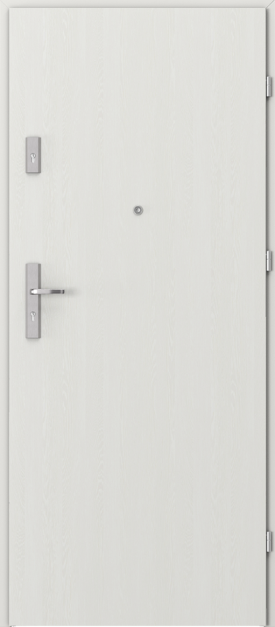 Drzwi wejściowe do mieszkania AGAT Plus pełne Okleina Portasynchro 3D *** Wenge White