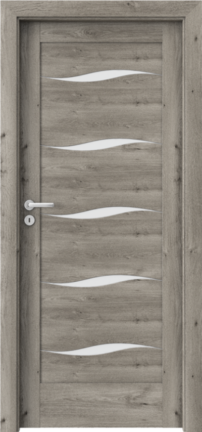 Drzwi wewnętrzne Porta VERTE HOME, E-F F.5 Okleina Portaperfect 3D **** Dąb Syberyjski