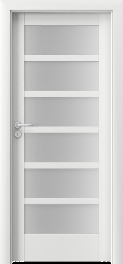 Drzwi wewnętrzne Porta VERTE HOME, A A.6 Okleina Portadecor *** Biały