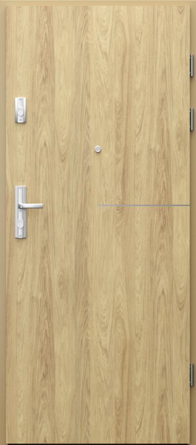 Drzwi wejściowe do mieszkania GRANIT intarsje 8