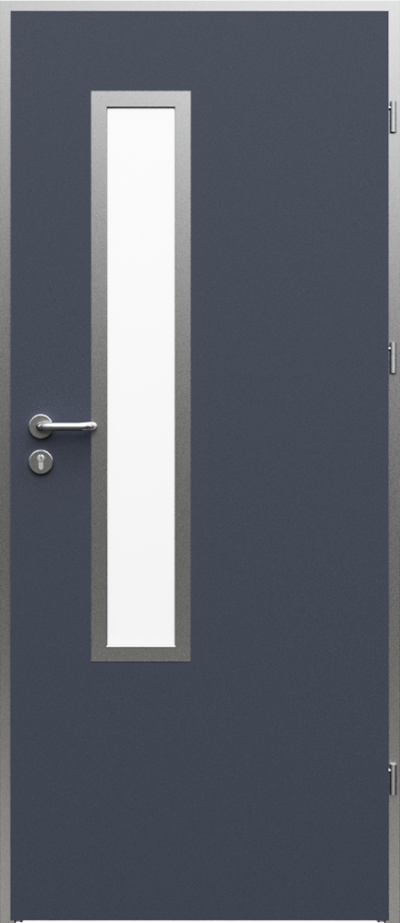 Technical doors AQUA 3 HPL laminate ****** Anthracite HPL CPL