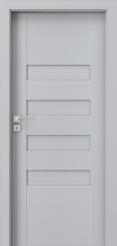Drzwi wewnętrzne Porta KONCEPT H.0 Okleina Portadecor *** Popielaty Euroinvest